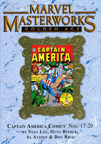 Cover Thumbnail for Marvel Masterworks: Golden Age Captain America (Marvel, 2005 series) #5 (161) [Limited Variant Edition]