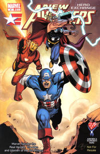 Cover Thumbnail for AAFES 9th Edition [New Avengers: Hero Exchange] (Marvel, 2010 series)