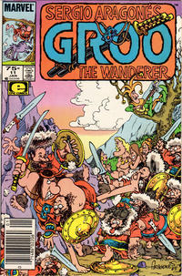 Cover Thumbnail for Sergio Aragonés Groo the Wanderer (Marvel, 1985 series) #11 [Newsstand Edition]