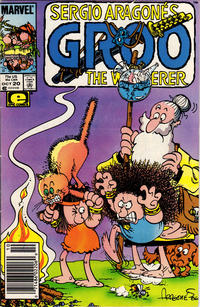 Cover Thumbnail for Sergio Aragonés Groo the Wanderer (Marvel, 1985 series) #20 [Newsstand Edition]