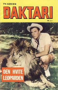 Cover Thumbnail for Daktari Den hvite leoparden (Romanforlaget, 1968 series)