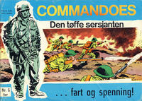 Cover Thumbnail for Commandoes (Fredhøis forlag, 1973 series) #6
