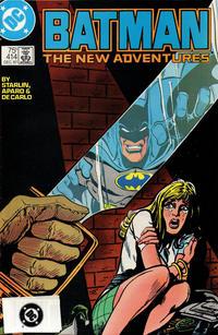 Cover Thumbnail for Batman (DC, 1940 series) #414 [Third Printing - DC Bullet Variant]