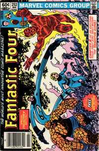 Cover Thumbnail for Fantastic Four (Marvel, 1961 series) #252 [Newsstand]