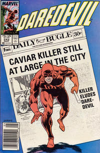 Cover Thumbnail for Daredevil (Marvel, 1964 series) #242 [Newsstand]