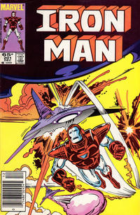 Cover for Iron Man (Marvel, 1968 series) #201 [Direct Edition]