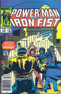 Cover Thumbnail for Power Man and Iron Fist (Marvel, 1981 series) #122 [newsstand]