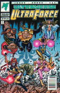 Cover Thumbnail for UltraForce (Malibu, 1994 series) #1 [Newsstand]