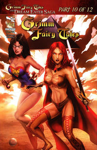 Cover Thumbnail for Grimm Fairy Tales (Zenescope Entertainment, 2005 series) #64 [Cover A - Marat Mychaels]