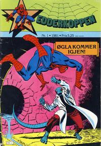 Cover Thumbnail for Edderkoppen (Atlantic Forlag, 1978 series) #1/1981