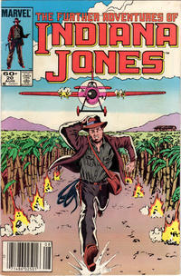 Cover Thumbnail for The Further Adventures of Indiana Jones (Marvel, 1983 series) #20 [Newsstand]