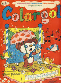 Cover Thumbnail for Colargol (Hjemmet / Egmont, 1976 series) #3