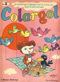 Cover Thumbnail for Colargol (Hjemmet / Egmont, 1976 series) #2