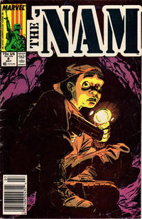 Cover Thumbnail for The 'Nam (Marvel, 1986 series) #8 [Newsstand]