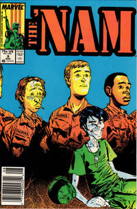 Cover Thumbnail for The 'Nam (Marvel, 1986 series) #9 [Newsstand]