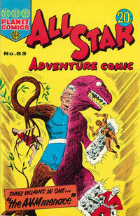 Cover Thumbnail for All Star Adventure Comic (K. G. Murray, 1959 series) #83