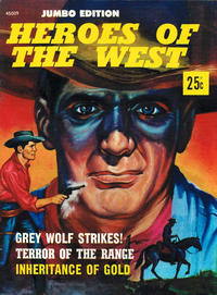 Cover Thumbnail for Heroes of the West Jumbo Edition (Magazine Management, 1975 series) #45009