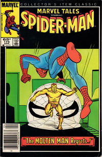 Cover Thumbnail for Marvel Tales (Marvel, 1966 series) #174 [Newsstand Edition]