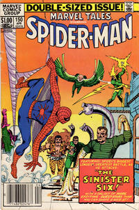 Cover Thumbnail for Marvel Tales (Marvel, 1966 series) #150 [Newsstand]