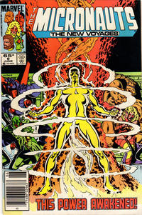 Cover Thumbnail for Micronauts (Marvel, 1984 series) #9 [Newsstand]