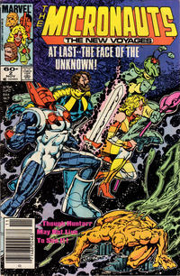 Cover Thumbnail for Micronauts (Marvel, 1984 series) #2 [Newsstand]