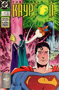 Cover Thumbnail for World of Krypton (DC, 1987 series) #4 [Direct]