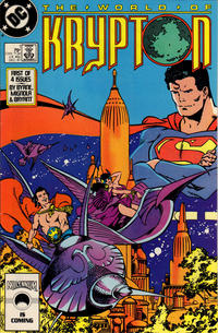 Cover Thumbnail for World of Krypton (DC, 1987 series) #1 [Direct]