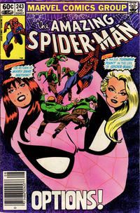 Cover Thumbnail for The Amazing Spider-Man (Marvel, 1963 series) #243 [Newsstand Edition]