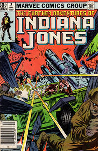 Cover Thumbnail for The Further Adventures of Indiana Jones (Marvel, 1983 series) #3 [Newsstand]