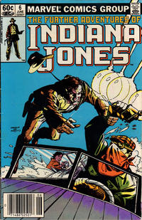 Cover Thumbnail for The Further Adventures of Indiana Jones (Marvel, 1983 series) #6 [Newsstand]