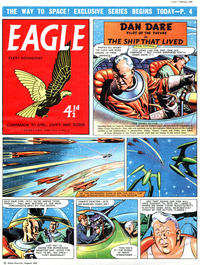 Cover Thumbnail for Eagle (Hulton Press, 1950 series) #v9#6