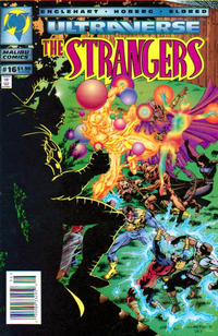Cover Thumbnail for The Strangers (Malibu, 1993 series) #16 [Newsstand Edition]