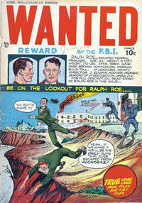 Cover Thumbnail for Wanted Comics (Publications Services Limited, 1948 series) #12