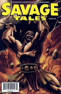 Cover for Savage Tales (Dynamite Entertainment, 2007 series) #6 [Cover A]