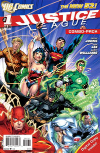 Cover Thumbnail for Justice League (DC, 2011 series) #1 [Jim Lee Combo Pack Cover]