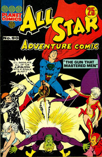 Cover Thumbnail for All Star Adventure Comic (K. G. Murray, 1959 series) #90