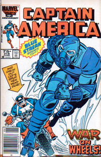 Cover Thumbnail for Captain America (Marvel, 1968 series) #318 [Newsstand Edition]