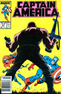 Cover Thumbnail for Captain America (Marvel, 1968 series) #331 [Newsstand]