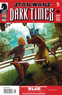 Cover Thumbnail for Star Wars: Dark Times (Dark Horse, 2006 series) #15 [Newsstand]