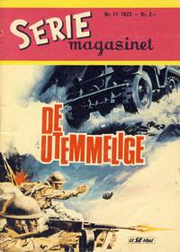 Cover Thumbnail for Seriemagasinet (Serieforlaget / Se-Bladene / Stabenfeldt, 1951 series) #11/1972