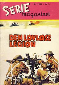 Cover for Seriemagasinet (Serieforlaget / Se-Bladene / Stabenfeldt, 1951 series) #7/1972