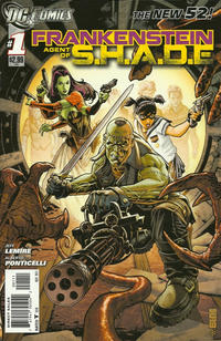 Cover Thumbnail for Frankenstein, Agent of S.H.A.D.E. (DC, 2011 series) #1