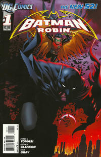 Cover Thumbnail for Batman and Robin (DC, 2011 series) #1 [Direct Sales]