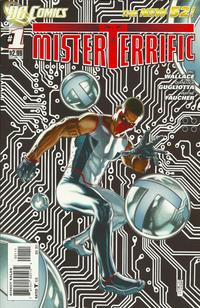 Cover Thumbnail for Mister Terrific (DC, 2011 series) #1
