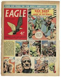 Cover Thumbnail for Eagle (Hulton Press, 1950 series) #v8#22