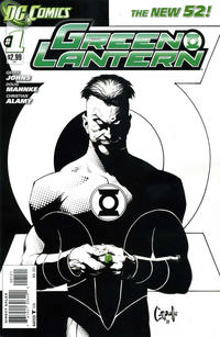Cover Thumbnail for Green Lantern (DC, 2011 series) #1 [Greg Capullo Cover]