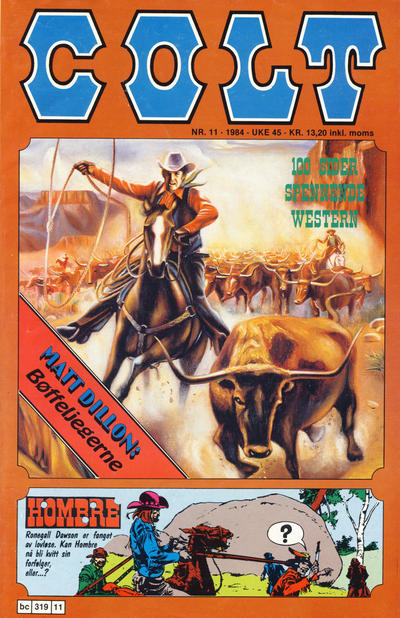 Cover for Colt (Semic, 1978 series) #11/1984