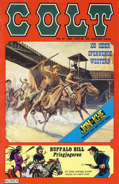 Cover for Colt (Semic, 1978 series) #12/1984