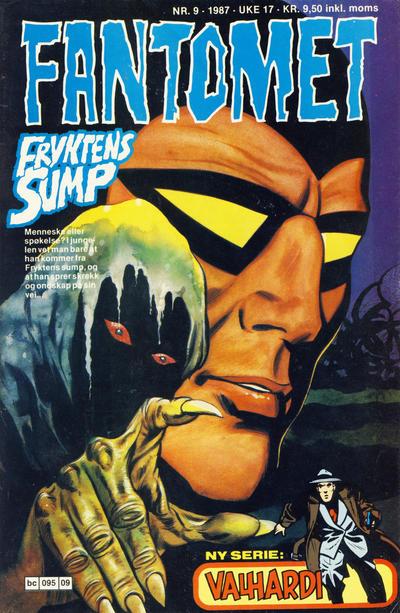 Cover for Fantomet (Semic, 1976 series) #9/1987