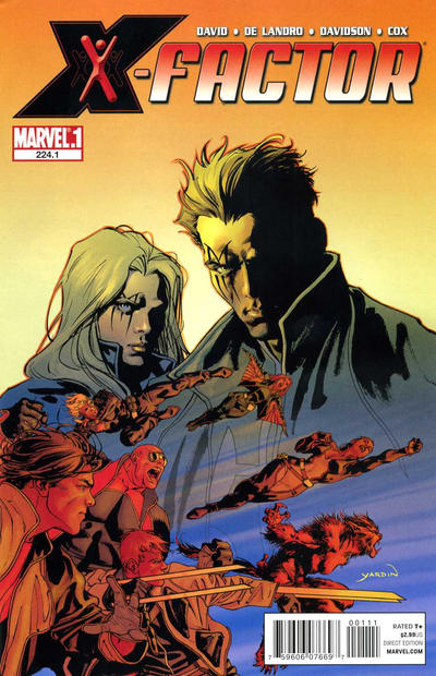 Cover for X-Factor (Marvel, 2006 series) #224.1
